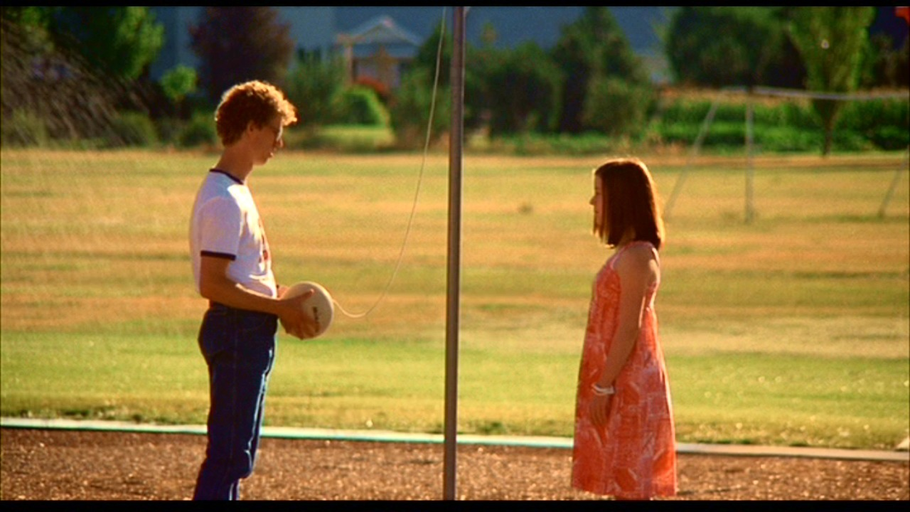 Yes, Napoleon Dynamite had skills on the tetherball court.