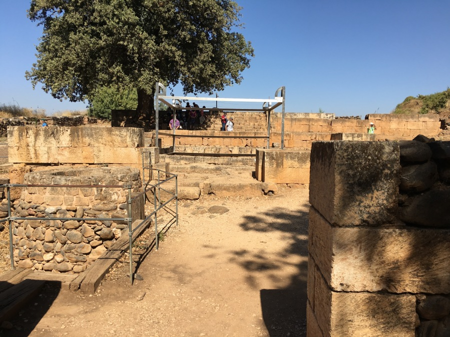 The altar where the Golden Calf was placed in Dan.