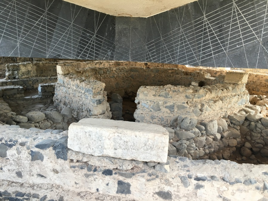 """Picture #3 - Peter's House """"Church"""" in Capernaum"""