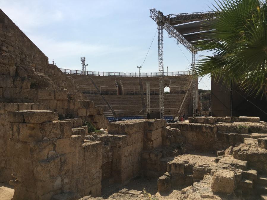 The theater in Caesarea