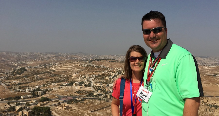 Kimberly and I from the top of Herodian