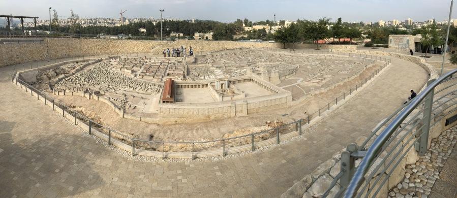 50:1 Scale model of the Old City of Jerusalem