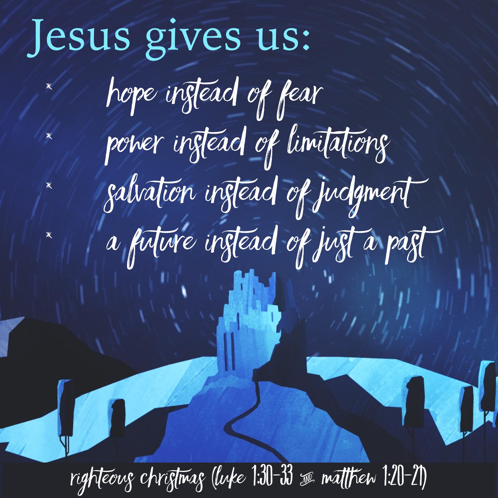 Righteous Christmas pt 1 (Sermon Discussion Questions) – Pastor ...